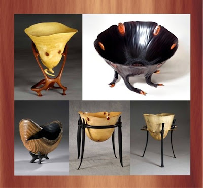 Antiques Wood Bowls by Patrick Kramer