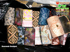 Souvenir Dompet Batik Jogja