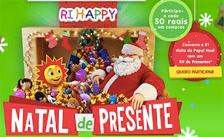 Cadastrar na promoção Ri Happy Natal de Presentes