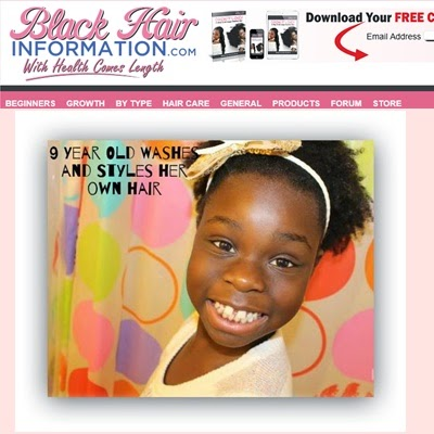 Black Hair Information 9 Year Old DiscoveringNatural