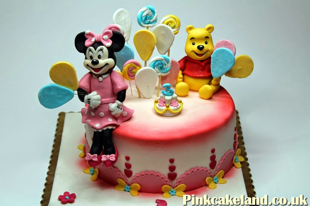 Minnie Mouse Cake, Hounslow