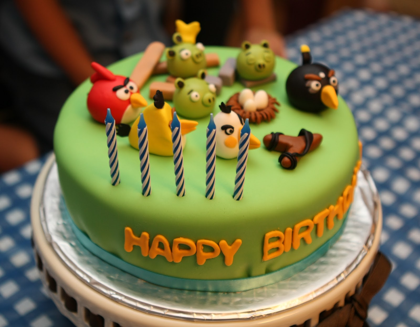 Passion For Baking Happy Bird Day Cake