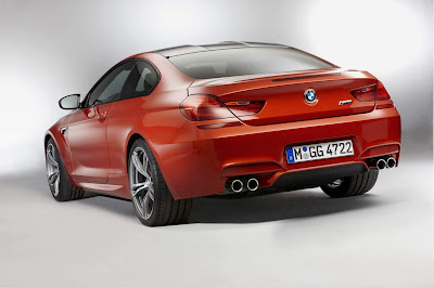 2012-BMW-M6-Red-Color-Rear-Side-View