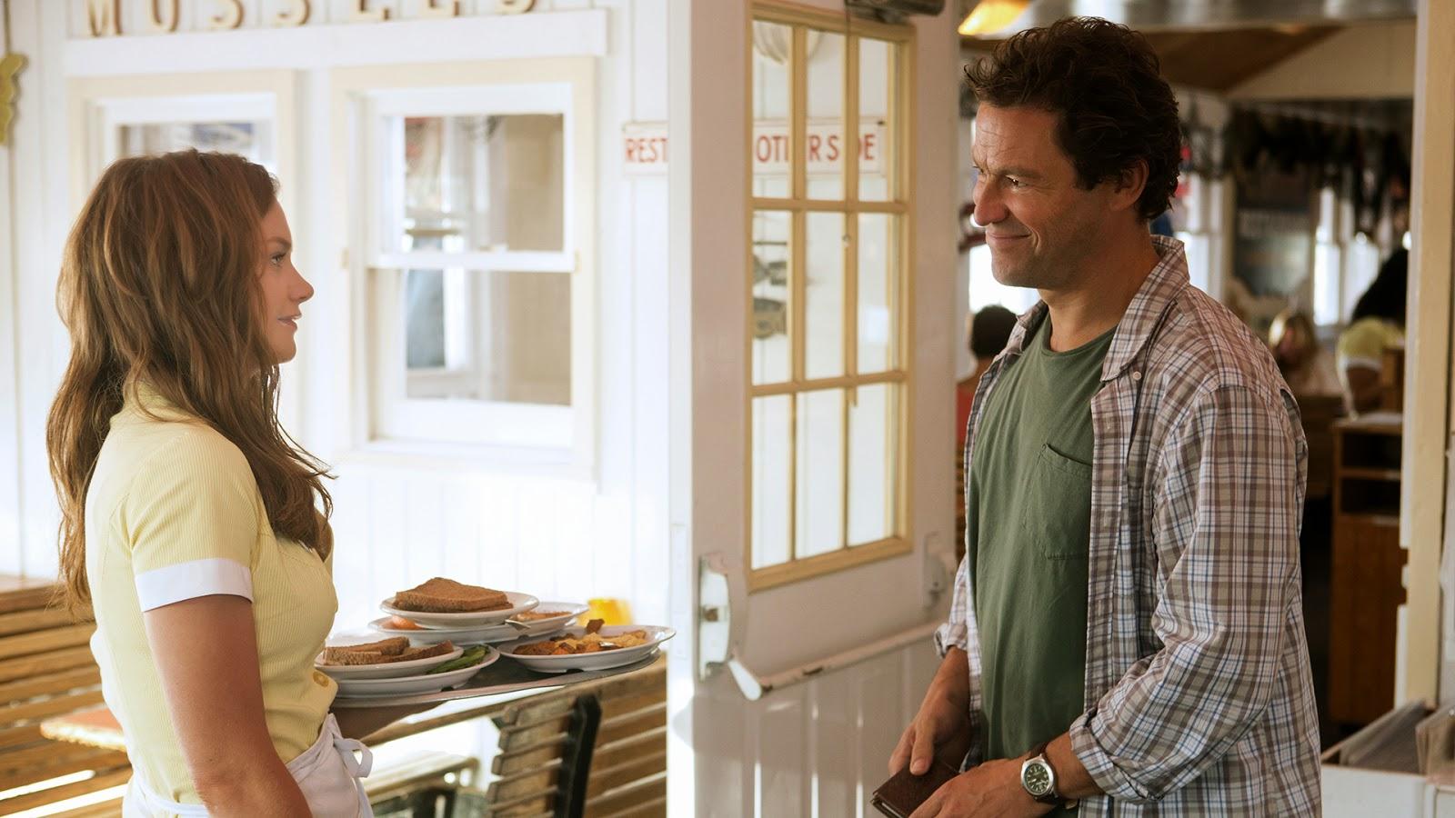 Allison es la camarera de Noah y su familia en el piloto de la serie de Showtime