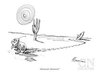 Ammonia! Ammonia! - New Yorker Cartoon  By: Robert Grossman
