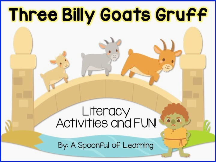 three billy goats gruff activities for preschool a spoonful of learning three billy goats gruff 5 513
