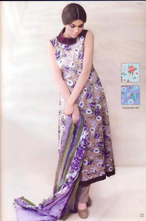 Latest spring summer lawn collection 2012