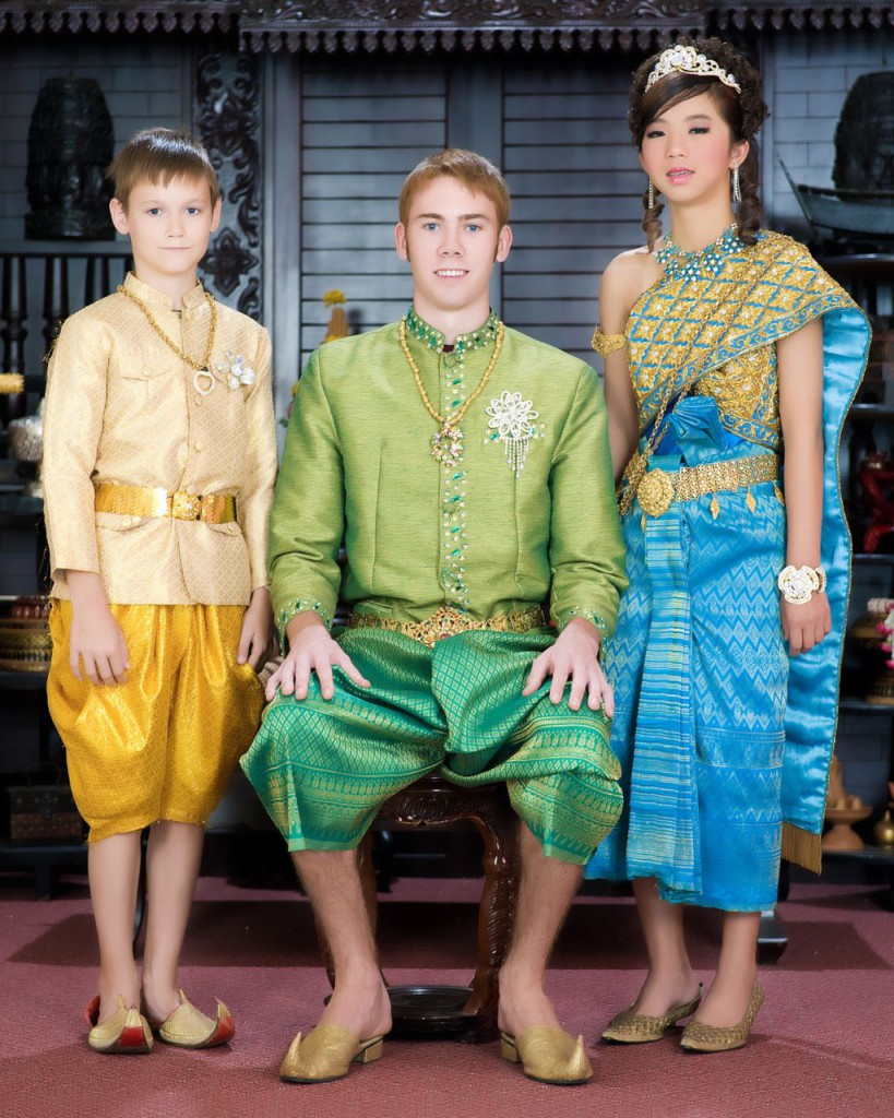 Cambodian Traditional Clothing Men
