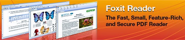 تحميل برنامج فوكست ريدر Foxit Reader 6.2.0.0429