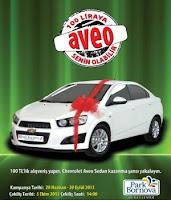 Park-Bornova-Chevrolet-Aveo-Çekiliş-Kampanyası