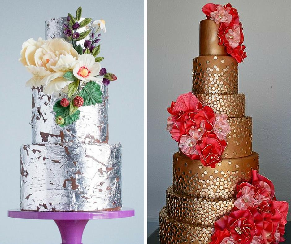 уникални сватбени торти актуални през 2015