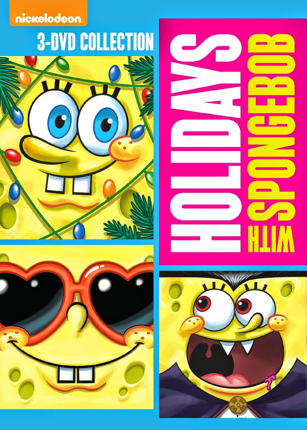 spongebob squarepants holidays with spongebob review
