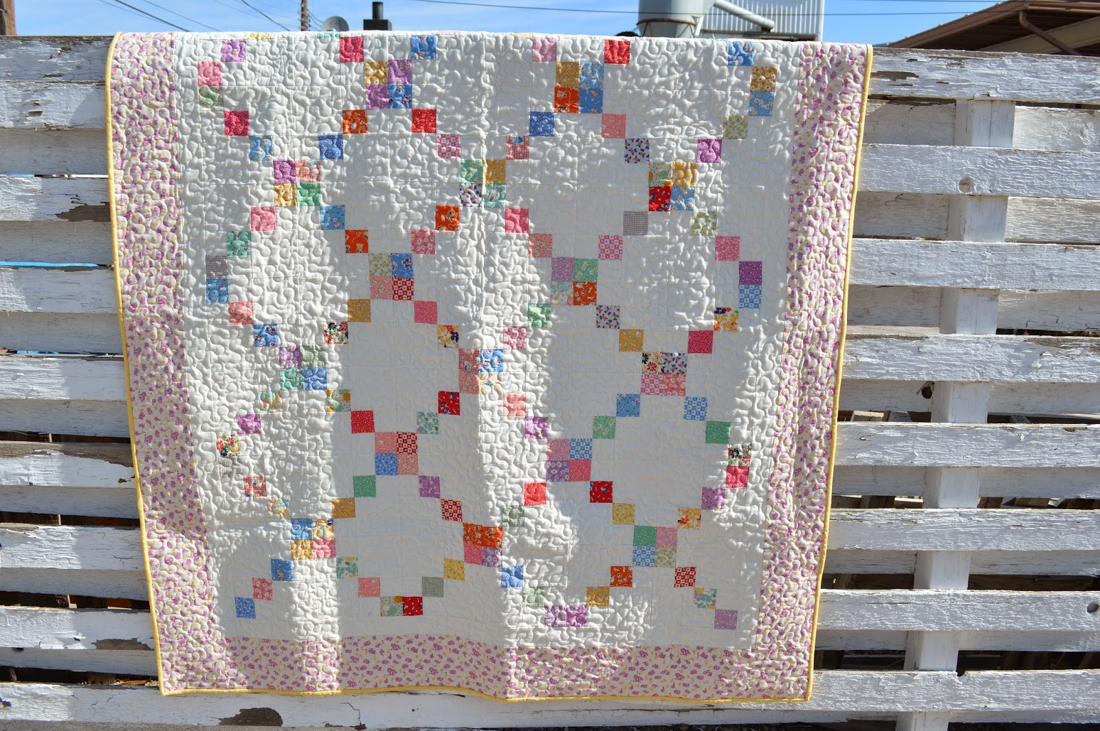 Irish Chain Quilt Pattern Awesome Inspiration Design
