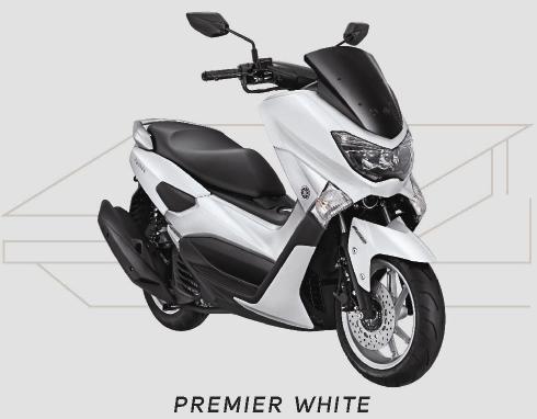 Yamaha NMAX Warna Premier White