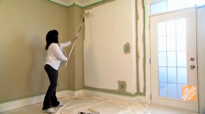 Como pintar paredes h galo usted mismo ideas y for Como pintar puertas de sapeli