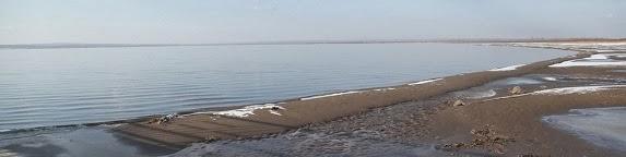 Lake Hongjiannao, northern China, December 2011.