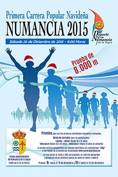 1ª Carrera Popular Navideña de Numancia de la Sagra
