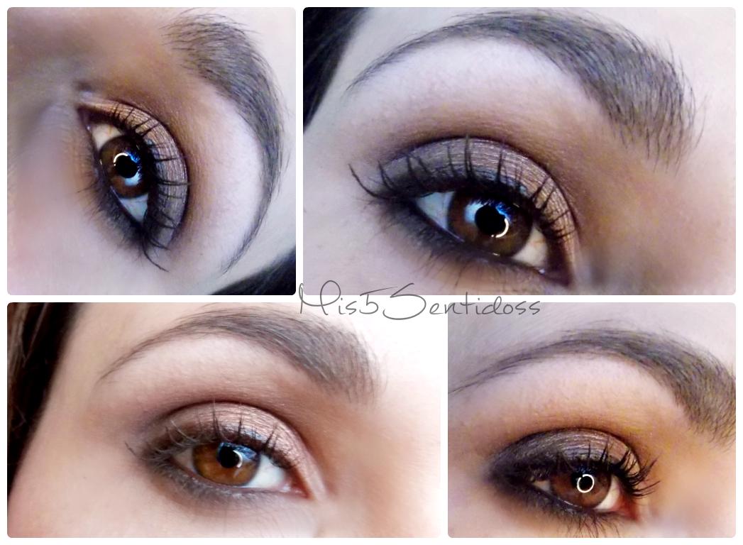 Maquillaje para otoño ojos y labios