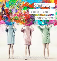 Even creativity needs a purpose!