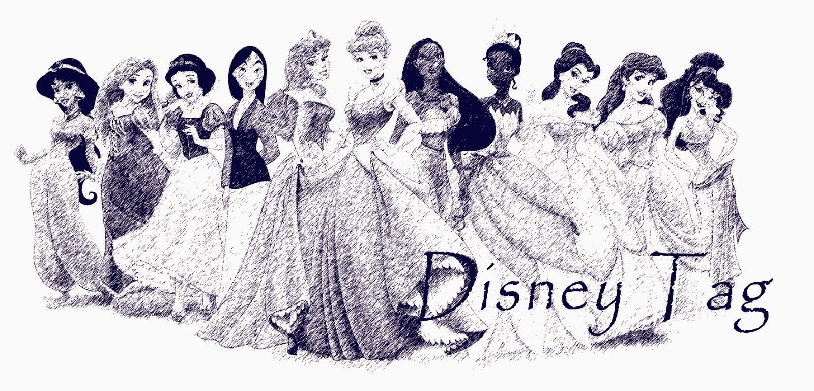 Etre ou ne pas être une princesse? Tag Disney