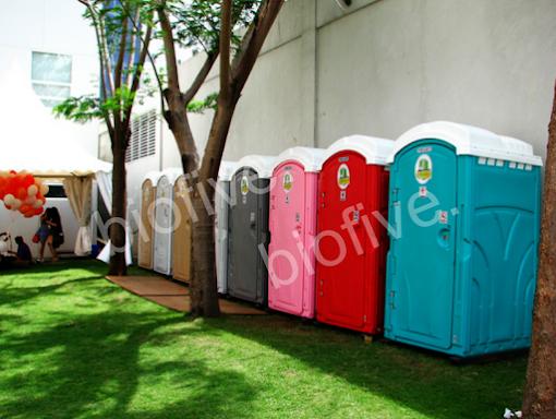 Sewa Toilet Portable Biofive