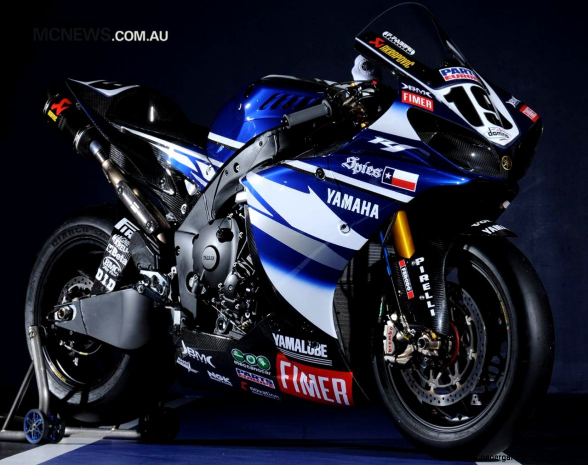 Yamaha R1 Blue Superbike Hd  All Wallpapers Desktop