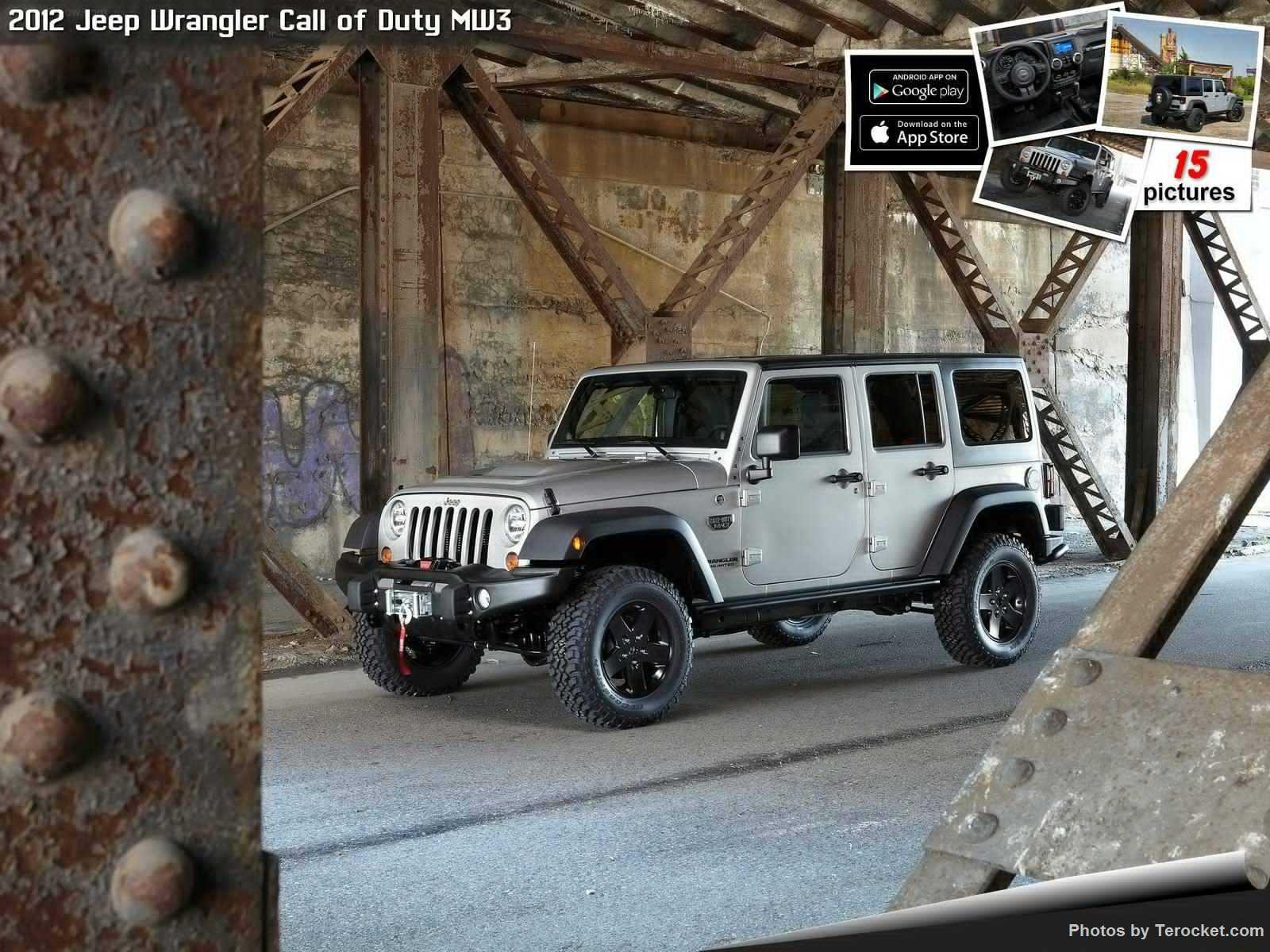 Hình ảnh xe ô tô Jeep Wrangler Call of Duty MW3 2012 & nội ngoại thất