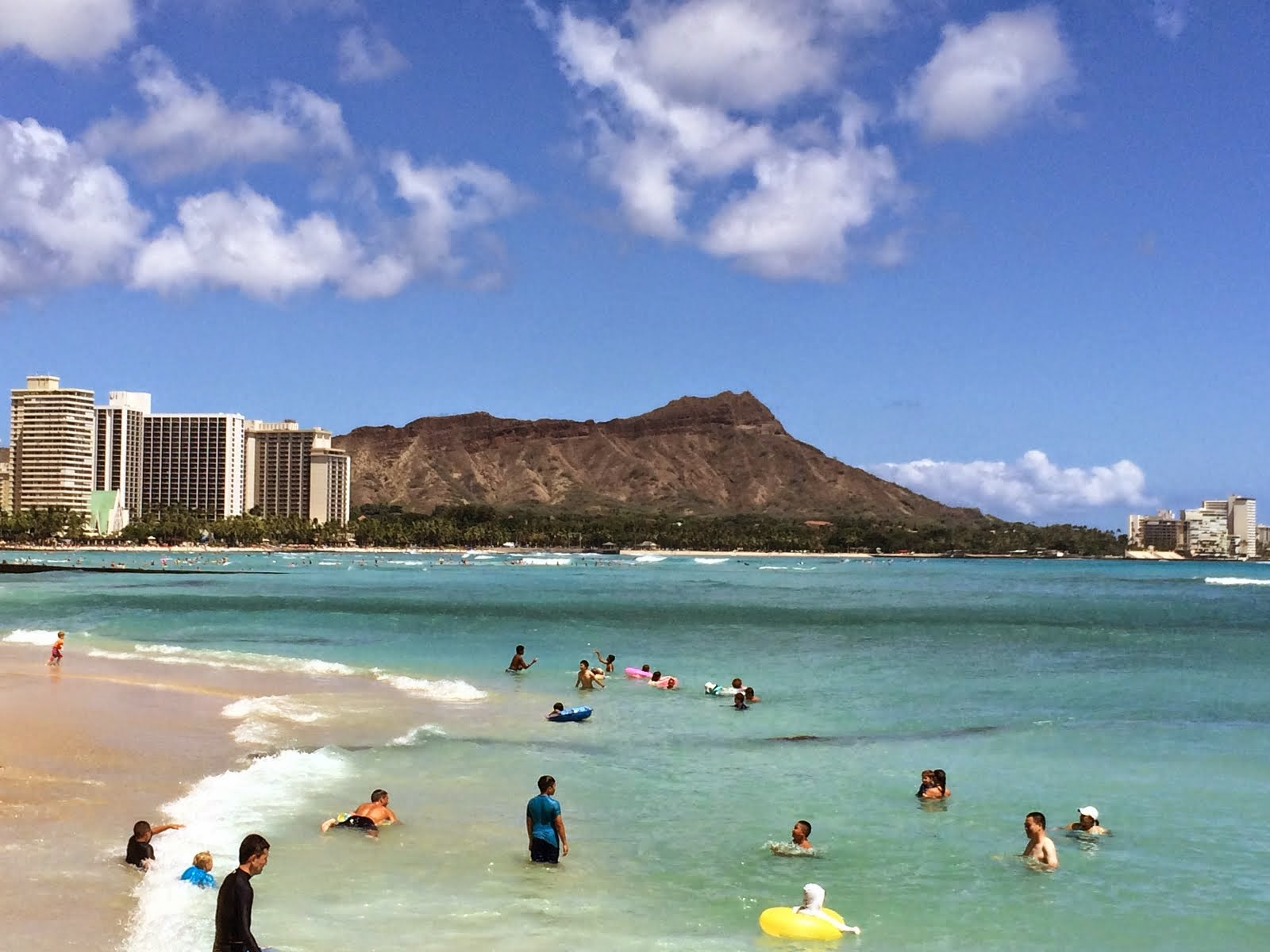 Diamond Head from Waikiki