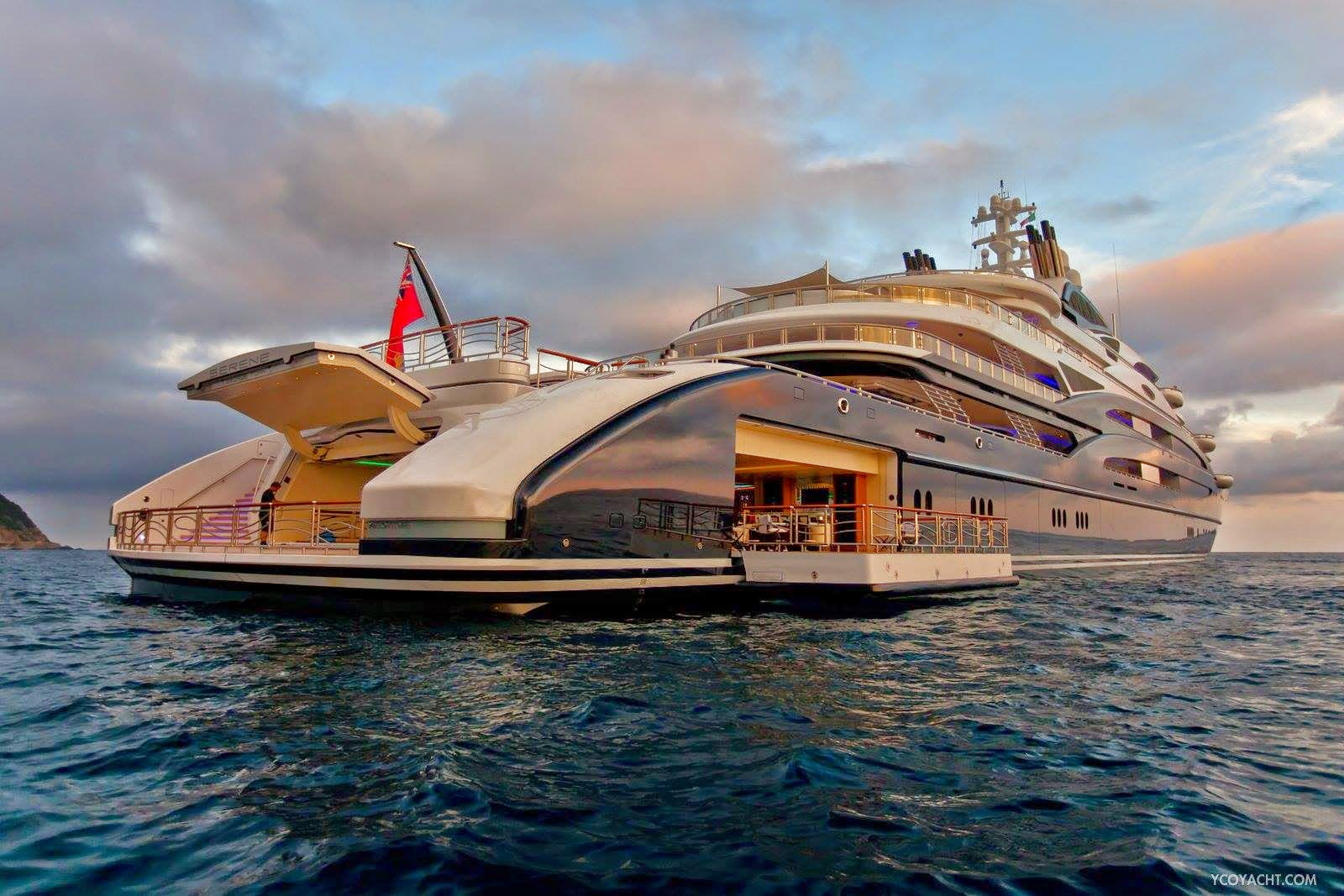 5 Million Per Week 134 Meter Fincantieri Serene Superyacht