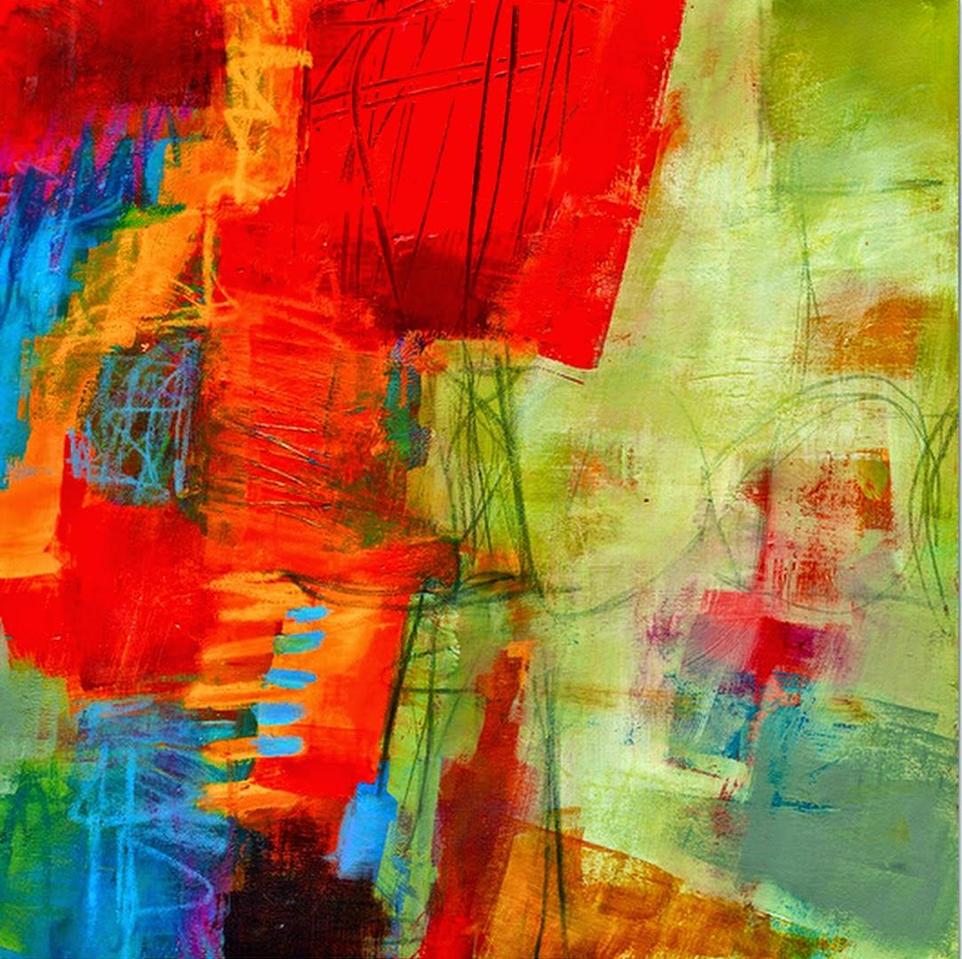 cuadros modernos cuadros abstractos al leo muy coloridos