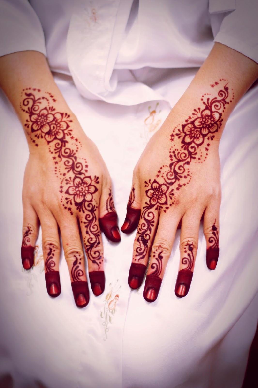 Ukiran Inai Subang Inai Pengantin Ukiran Henna Dan Make Up