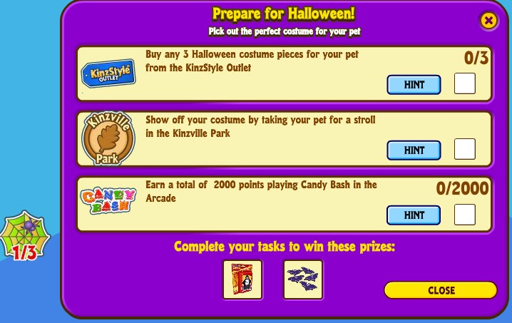 it works much like the key to kinzville quests in the sense that you must complete certain tasks to win certain prizes you must complete the key to - Webkinz Halloween Costumes
