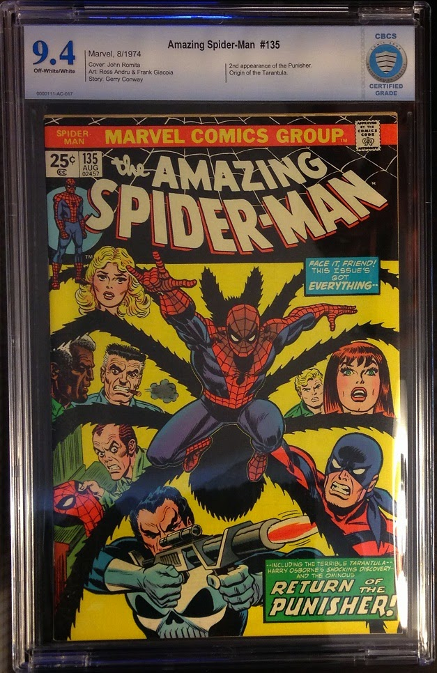 http://www.totalcomicmayhem.com/2014/11/amazing-spider-man-135-cbcs-94.html