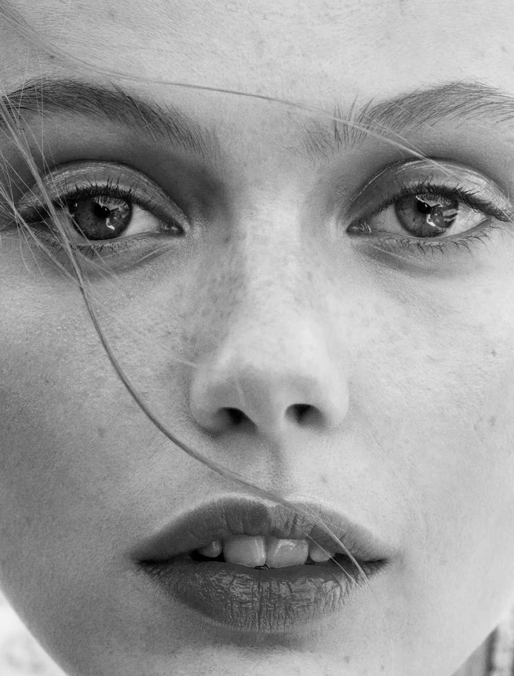 Frida Gustavsson photographed by Benjamin Vnuk & styled by Virginie Benarroch for Glamour France May 2015 via fashioned by love british fashion blog