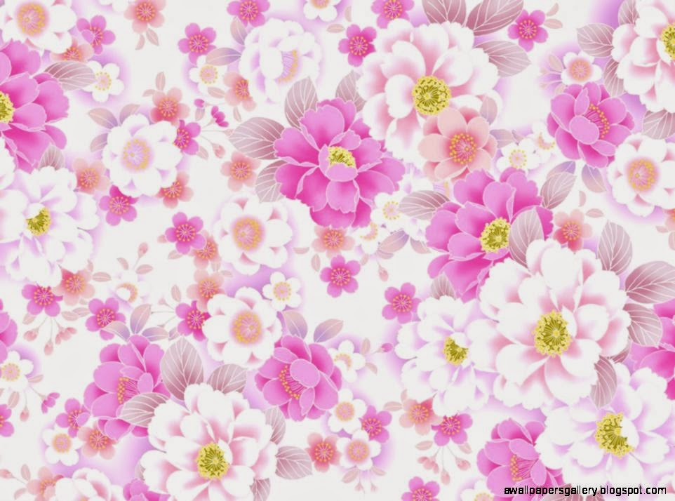 Simple flower wallpaper patterns - photo#10