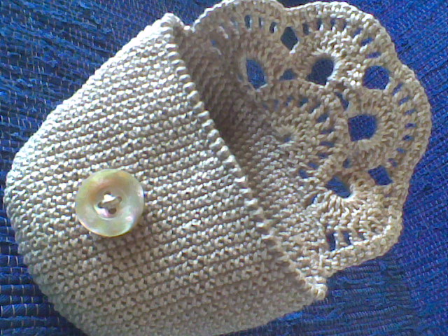 Free Crochet Patterns For Makeup Bags : JUD artes: Necessaire de croche