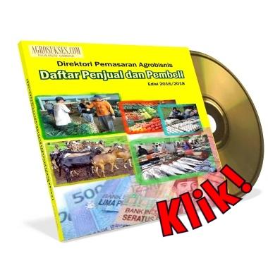 Patut Anda Miliki CD Direktori Pemasaran Agrobisnis (Edisi 2016 - 2018).