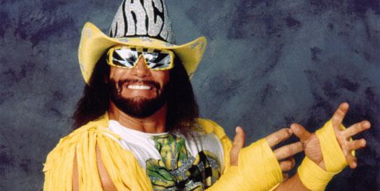 """El fallecido luchador Randy Savage """"Macho Man"""""""