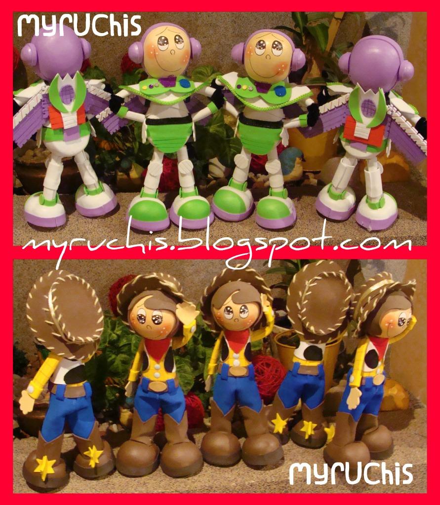 Myruchis: Decoración Fiesta. Jessie la Vaquerita