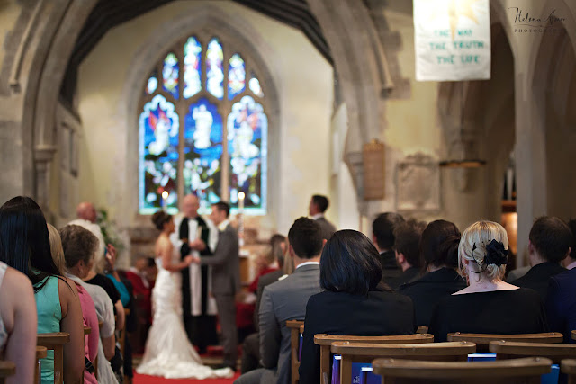 St Leonards Bursledon wedding ceremony