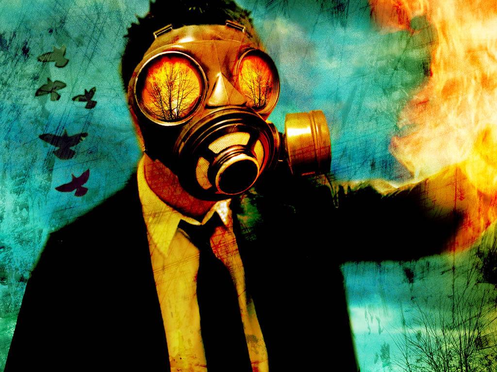 Senses Fail Gas Mask