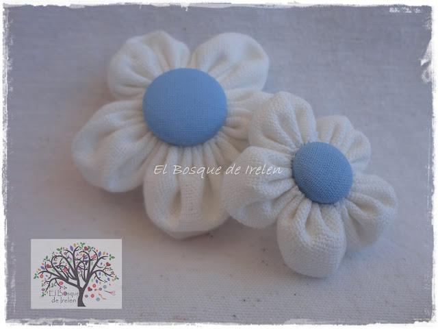 flor lino blanca