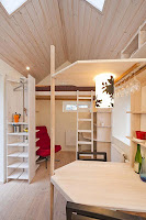 Menor apartamento da Suécia com 12m²