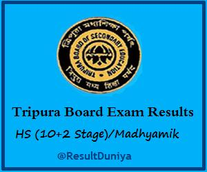 Download TBSE Madhyamik Result 2015 Tripura HS+2 12th Result 2015