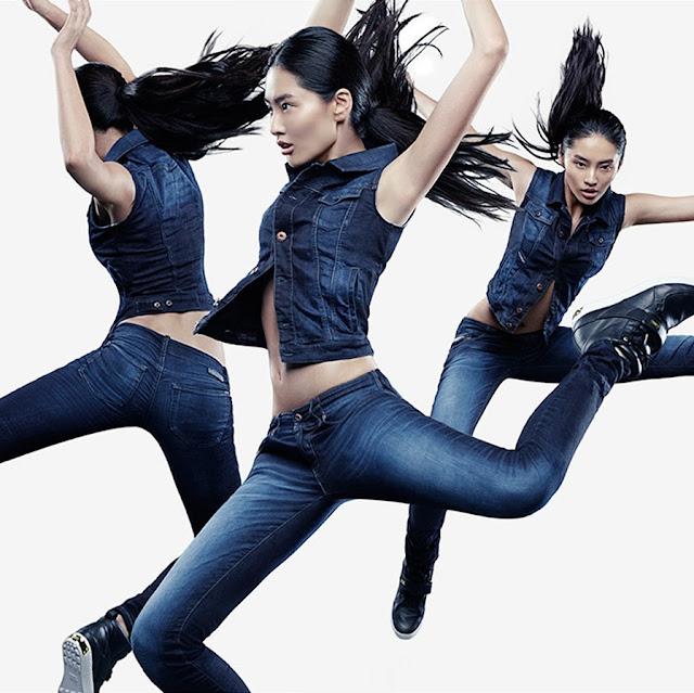 Bonnie Chen for Diesel Jogg Jeans