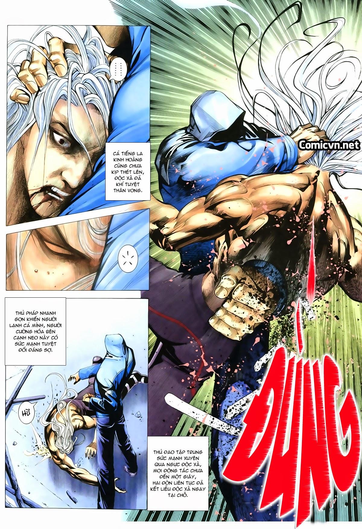 Tuyệt Địa Thiên Hành chap 8 Trang 11 - Mangak.info