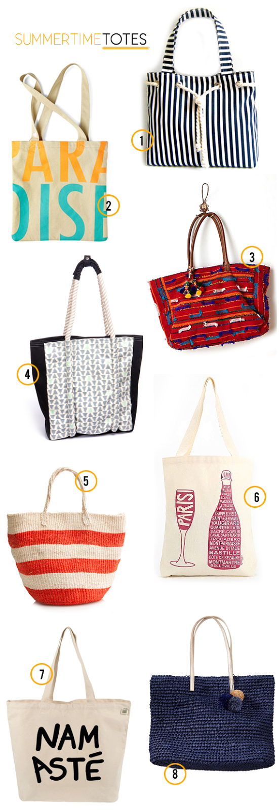 The Best Summertime Totes // Bubby and Bean