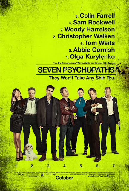Seven Psychopaths psoter