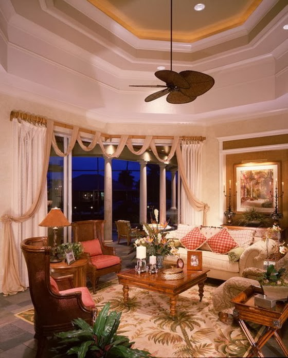 Decorating a Relaxed Living Room Interior Design
