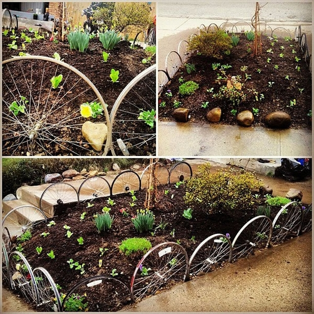26 creative garden junk idees and solutions for Ideas para decorar el jardin de mi casa